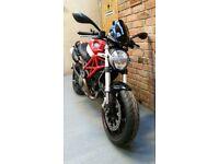Ducati monster 796 motorbike