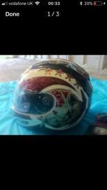 Lazer motorbike helmet size S