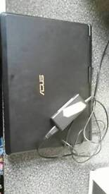 Asus laptop black
