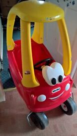 little tikes crazy coupe