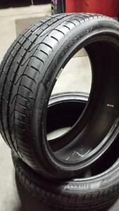 Pair of 2 ~~~ 255/45R21 Pirelli PZero (Porsche/Audi Original Equipment) ~~~ SUMMER ~~~ 95%+tread