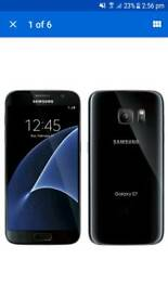 Samsung Galaxy S7 used in mint condition unlocked