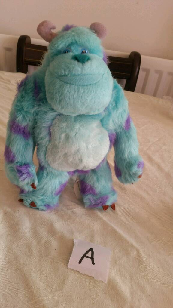 RARE fairy washing liquid monster Inc teddy