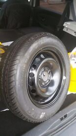 Rim and Tyre , both new, for Renault Scenic range.
