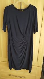 Navy blue dress size 16