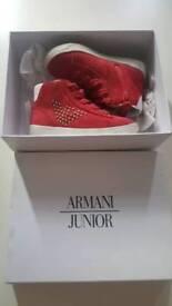 Armani Junior Baby Shoes 6 UK