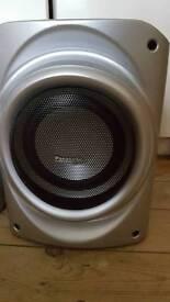 Panasonic sub and stereo speak £70