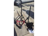 3 bike cycle carrier for hatchback car