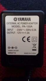 Original Yamaha Power Supply adaptor for Yamaha Piano keyboard
