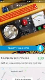 Emergency power station