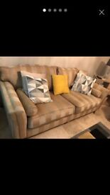 2 part sofa set 3 seater and 3 seater