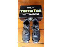 TuffKing Safety Boots - UK Size 8 - NEW - Worn Only Once Indoors