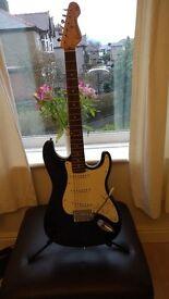 Wilkinson designed strat copy guitar
