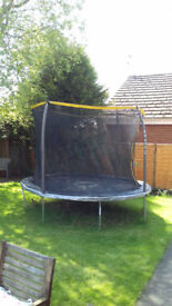 10 foot Sportspower trampoline with safety net South Cave East Yorks