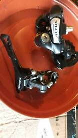Shimano Derailleurs Front and Back
