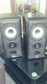 Mission 701s&Gale speaker stands