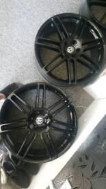 Vw 22 inch alloy wheels