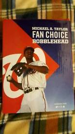 Baseball player bobblehead