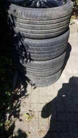 3 x sets alloy wheels