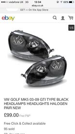 Gti replca headlights Brand new!!
