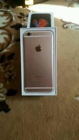 IPHONE 6S , UNLOCKED, LIKE NEW, ROSE