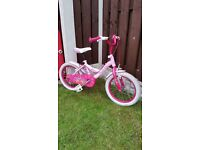 """Girls 16 """" bike in very good condition can diliver for a small charge"""