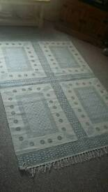 Excellent condition Indian cotton rug