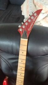 Epiphone super strat guitar