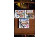 DS GAMES / £4 EACH OR ALL 3 GAMES FOR £10 POUND