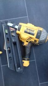 Dewalt 1st fix nail gun plus 18 volt drill