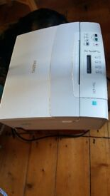 Brother dcp-195c printer - works but black print head needs cleaning