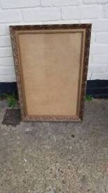 Solid wood ornate picture frame