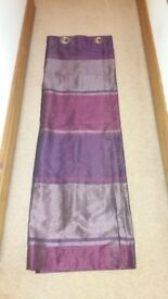 Purple Curtains, can deliver locally