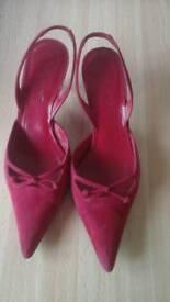 L K Bennett slingback shoes
