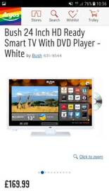 Bush 24inch smart tv dvd