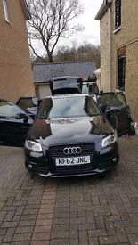 Audi A3 s-line, black eddition