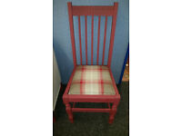 Vintage Arts & Craft Style Bedroom Chair