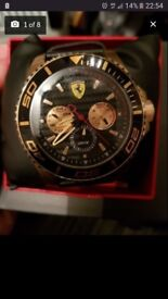 Men's Ferrari watch