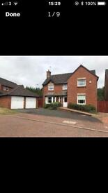 5 Bedroom Detached House, Large Garden,Double Garage, TO LET Livingston Village
