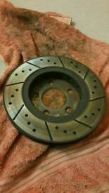 Rear Brake Discs from VW Golf Mk4 R32 (256mm)