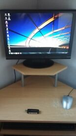 Packard Bell Desk top PC with corner unit