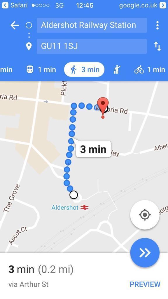 Aldershot Parking Space 2 Mins Walk To Station In Aldershot