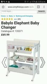 Baby bath unit