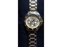 Ladies gold coloured dress watch. £3
