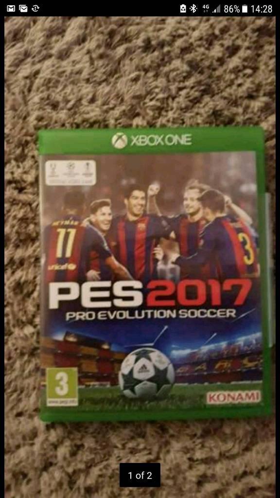 Xbox one PES 2017