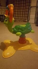 Vtech ride on turtle
