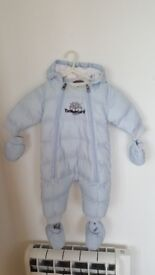 Timberland Baby Boy all -in-one snowsuit 6 months,67 cm
