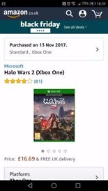 Xbox one game Halo Wars 5