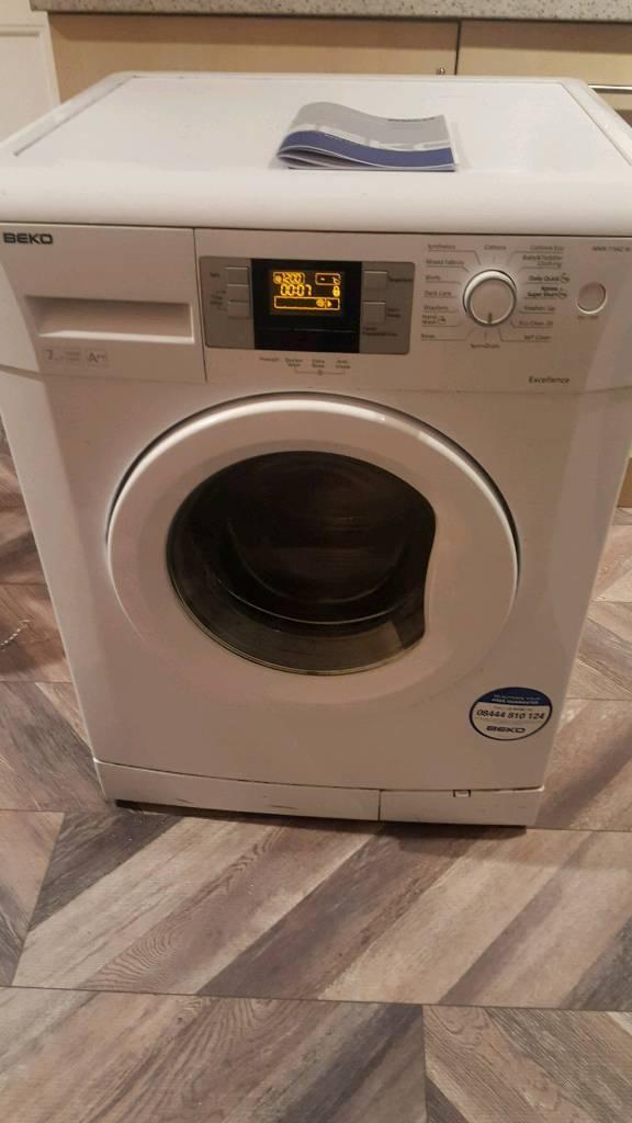 Beko washing machine 16spin 7kg