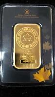 .9999 Gold Bars direct from the mint - only $50 over spot!